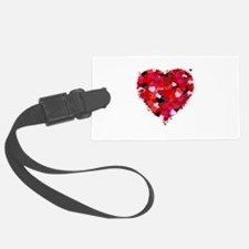 Bunch Of Hearts Luggage Tag