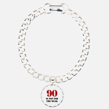 90th Birthday Gag Gift Bracelet