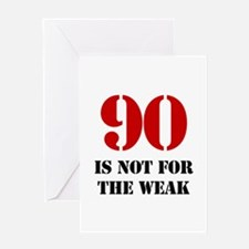 90th Birthday Gag Gift Greeting Card