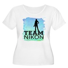 team Nikon watercolor.png T-Shirt