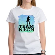 team Nikon watercolor.png Tee