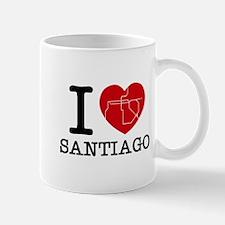 I LOVE (heart) SANTIAGO - metro Mug