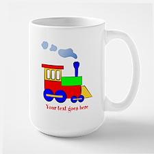 Personalize Choo Choo Train Engine Mug