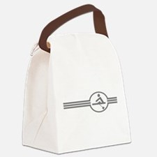 Rowing Crew Emblem Canvas Lunch Bag