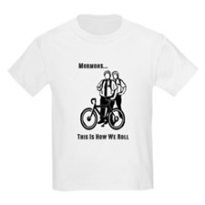Mormons:This Is How We Roll Kids T-Shirt
