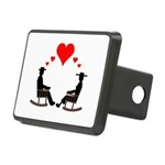 Hearts Rock Rectangular Hitch Cover