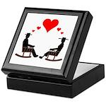 Hearts Rock Keepsake Box