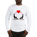 Hearts Rock Long Sleeve T-Shirt