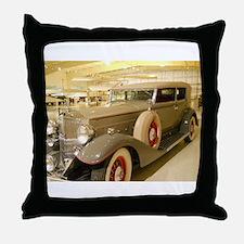 1933 Packard Sedan Throw Pillow