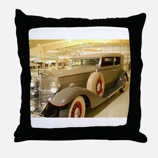 1933 Packard Sedan Throw Pillow