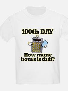 100th Day Calculator T-Shirt