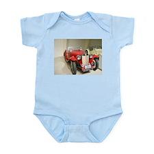 Red hot 1939 MG Car Infant Bodysuit