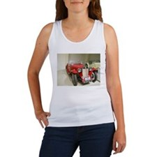 Red hot 1939 MG Car Women's Tank Top