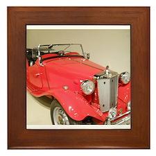1952 Mark II MG Framed Tile