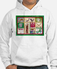 Golf Collage Hoodie
