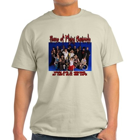 House of Flying Squirrels Movie Cast T-Shirt