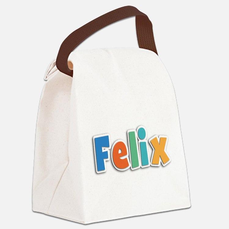 Felix Spring11B Canvas Lunch Bag