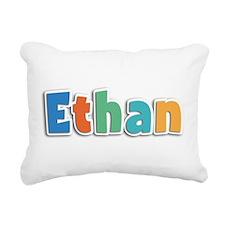 Ethan Spring11B Rectangular Canvas Pillow
