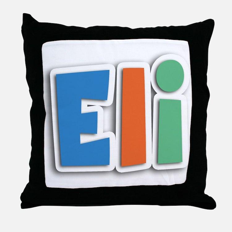 Eli Spring11B Throw Pillow