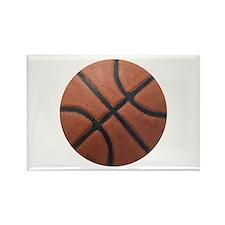 Basketball Tilt Rectangle Magnet (100 pack)