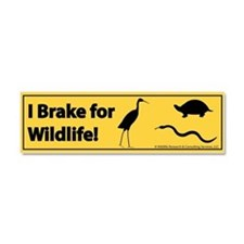 I Brake for Wildlife - Car Bumper Magnet