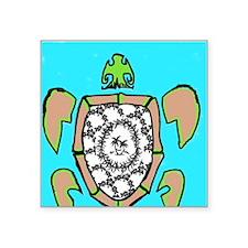 "Hawaiian Kine - No Bad Lays Square Sticker 3"" x 3"""