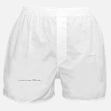 Licorice Stick Boxer Shorts