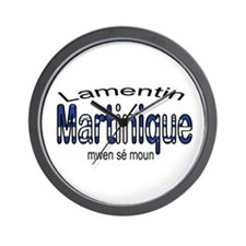 Lamentin Martinique Wall Clock