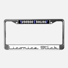 Licorice Stick License Plate Frame