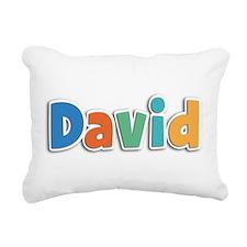 David Spring11B Rectangular Canvas Pillow