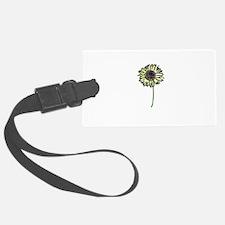 Himawari - Zen Sunflower Luggage Tag
