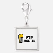 FTF Hunter Silver Square Charm