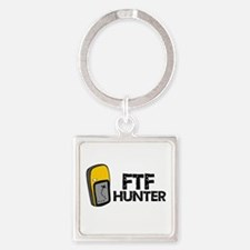 FTF Hunter Square Keychain
