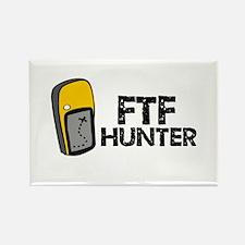 FTF Hunter Rectangle Magnet