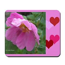 Alaska Wild Rose Mousepad