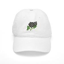 Black Velvet Baseball Cap