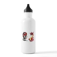 Double Dragons Water Bottle