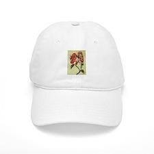 Flutterby Flower Fairy Baseball Cap