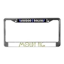 Moldy Fig License Plate Frame