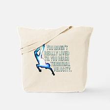 Cute Freefall Tote Bag