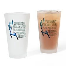 Funny Terminator Drinking Glass