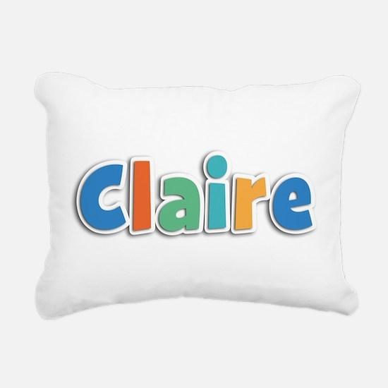 Claire Spring11B Rectangular Canvas Pillow