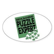 Geocaching Puzzle Expert Decal