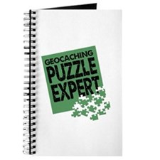 Geocaching Puzzle Expert Journal