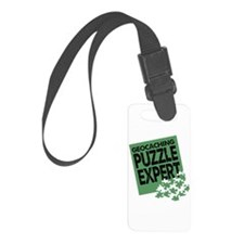 Geocaching Puzzle Expert Luggage Tag