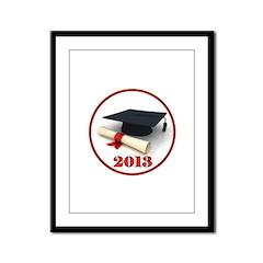 GRADUATE 2013 Framed Panel Print