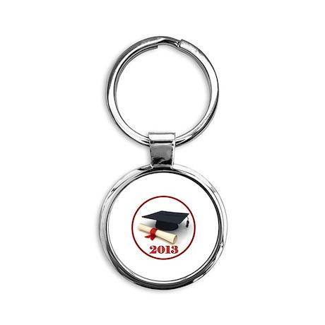 GRADUATE 2013 Round Keychain