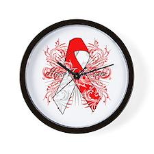 Hope Faith Cure MDS Wall Clock