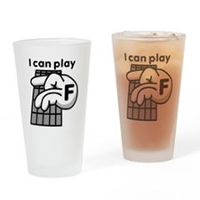 I can play F Drinking Glass