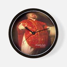 St Ignatius Loyola 1600 Wall Clock